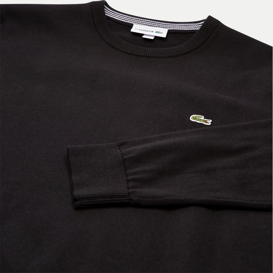 AH7004.. - Crew Neck Strik - Strik - Regular - SORT - 3