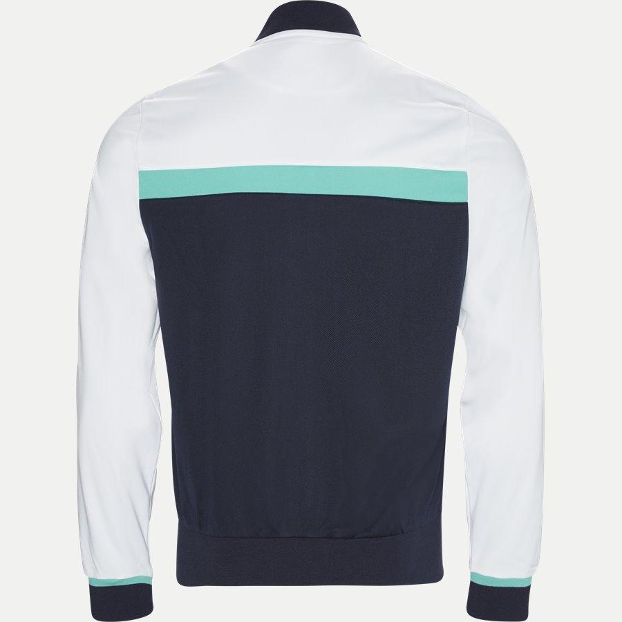 SH9504 - Colorblock Zip Pique Tennis Sweatshirt - Sweatshirts - Regular - HVID - 2