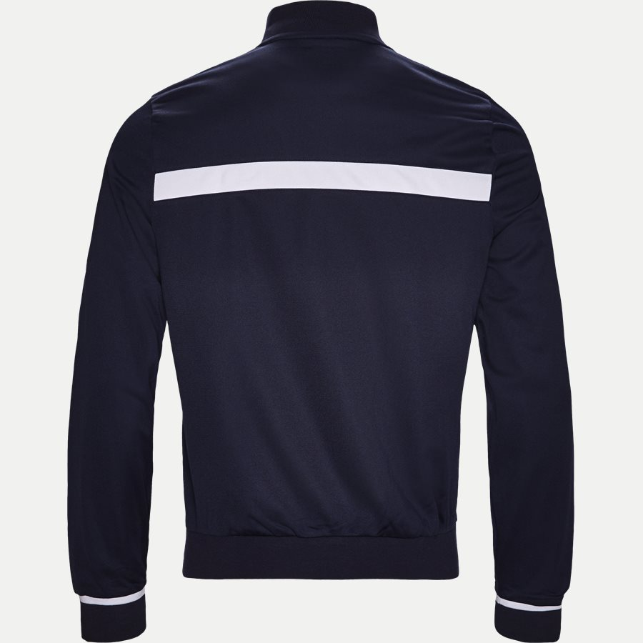 SH9504 - Colorblock Zip Pique Tennis Sweatshirt - Sweatshirts - Regular - NAVY - 2