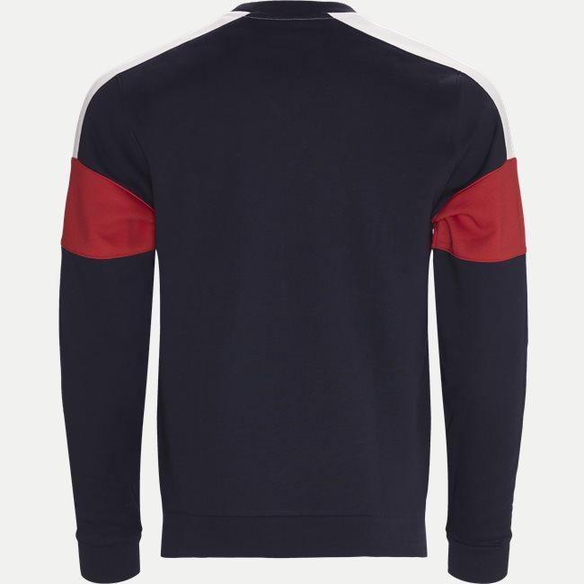 Colorblock Fleece Tennis Sweatshirt