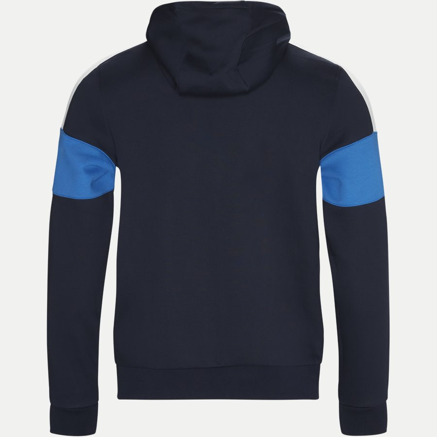 SH9492 - Colorblock Fleece Zippered Sweatshirt - Sweatshirts - Regular - NAVY - 2
