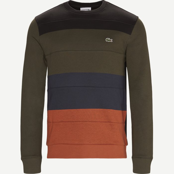 Colorblock Fleece Sweatshirt - Sweatshirts - Regular - Sort
