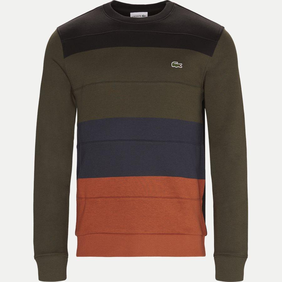 SH1902 - Colorblock Fleece Sweatshirt - Sweatshirts - Regular - SORT - 1