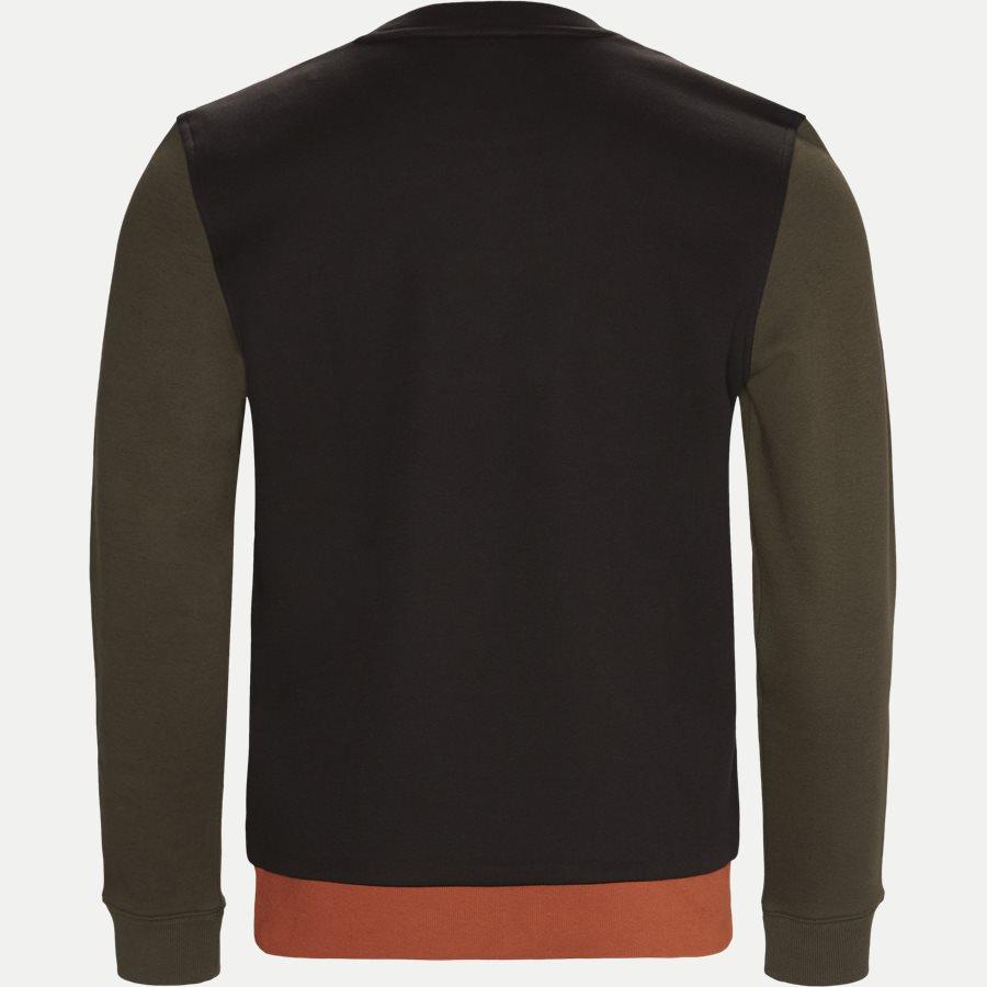 SH1902 - Colorblock Fleece Sweatshirt - Sweatshirts - Regular - SORT - 2