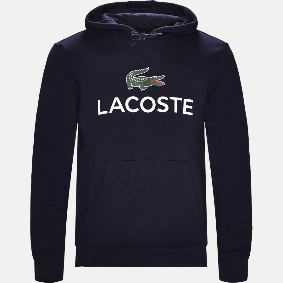 SH0601 - Logo Hoodie - Sweatshirts - Regular - NAVY - 1
