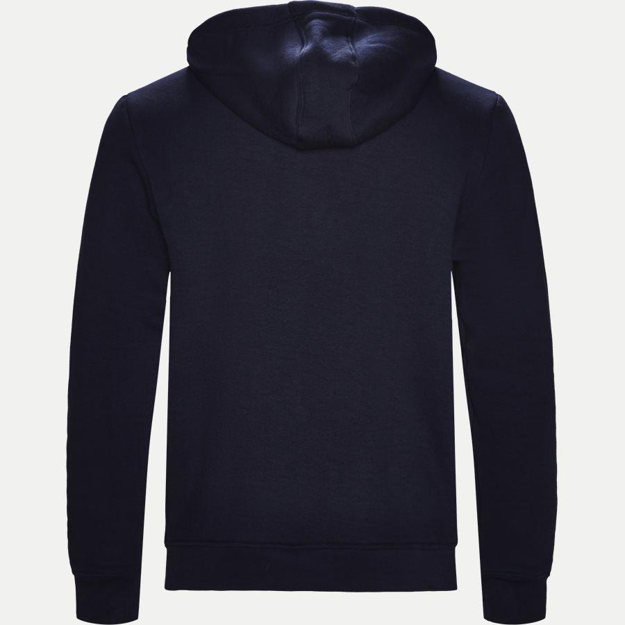 SH0601 - Logo Hoodie - Sweatshirts - Regular - NAVY - 2