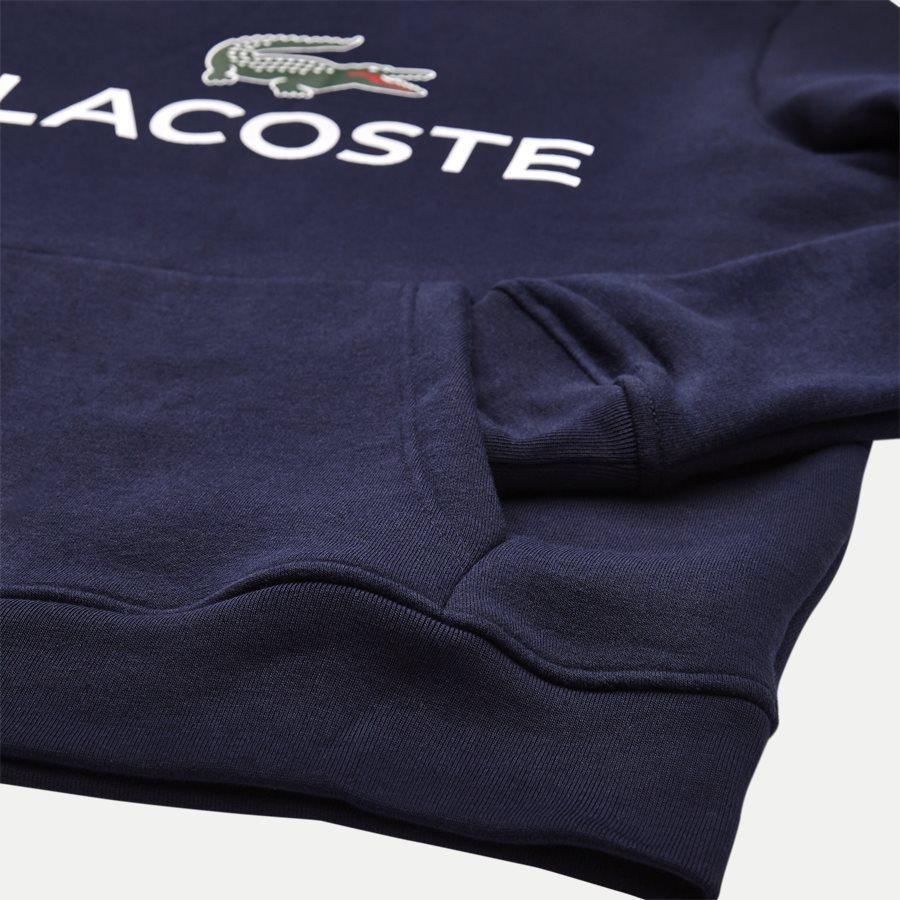 SH0601 - Logo Hoodie - Sweatshirts - Regular - NAVY - 4