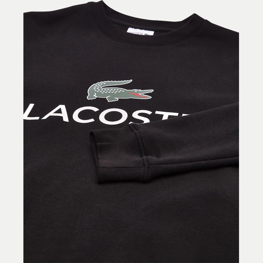 SH0605 - Sport Logo Sweatshirt - Sweatshirts - Regular - SORT - 3