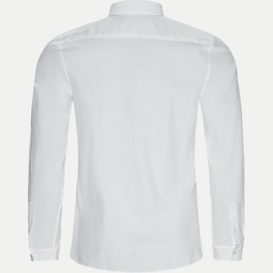 CH5816 - Stretch Cotton Poplin Shirt - Skjorter - Slim - HVID - 2