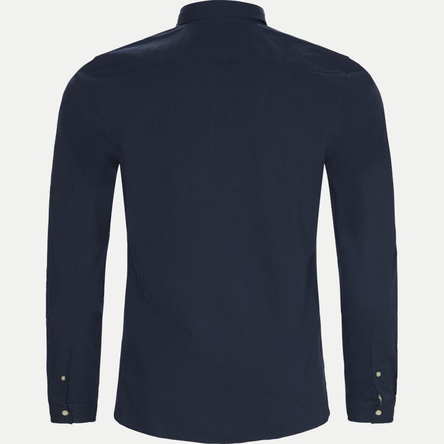 CH5816. - Stretch Cotton Poplin Shirt - Skjorter - Slim - NAVY - 2
