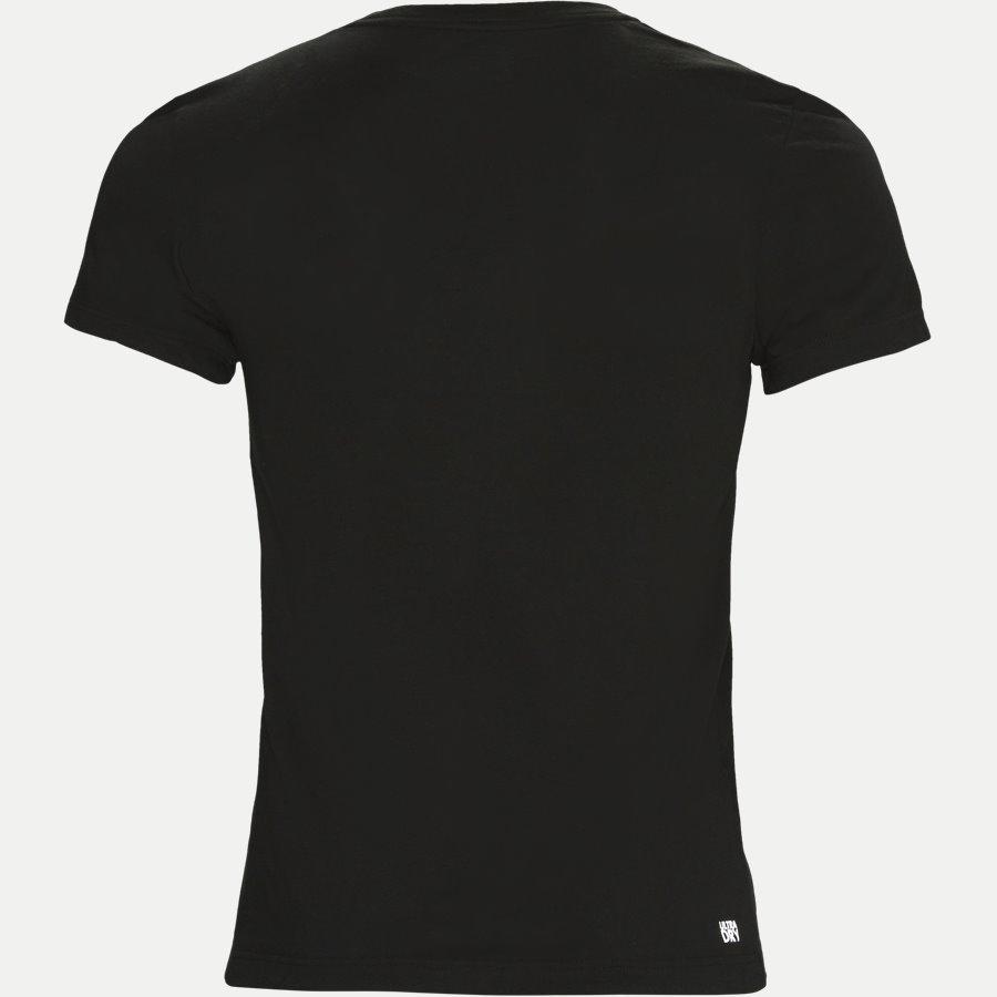 TH3377. - Oversize Crokodile Technical Jersey - T-shirts - Regular - SORT - 2