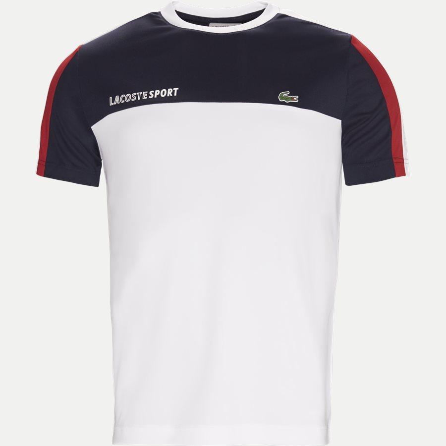 TH9472 - Roberts Pique Skjorte T-shirt - T-shirts - Regular - HVID - 1