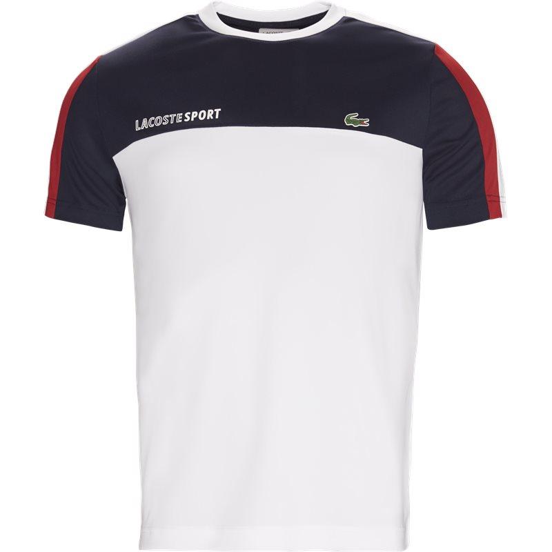 lacoste Lacoste - roberts pique skjorte t-shirt på kaufmann.dk