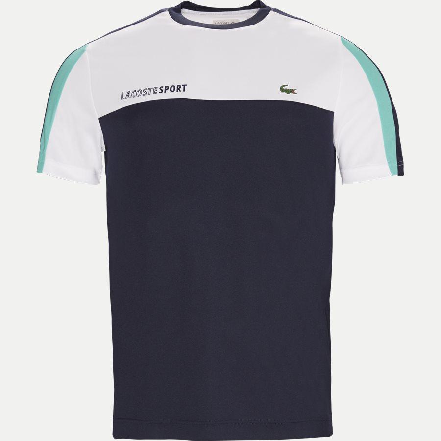 TH9472 - Roberts Pique Skjorte T-shirt - T-shirts - Regular - NAVY - 1