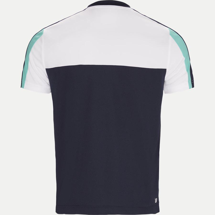 TH9472 - Roberts Pique Skjorte T-shirt - T-shirts - Regular - NAVY - 2