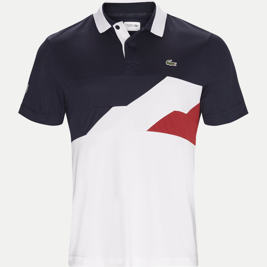 DH9483 - Colorblock Bands Technical Pique Tennis Polo - T-shirts - Regular - NAVY - 1