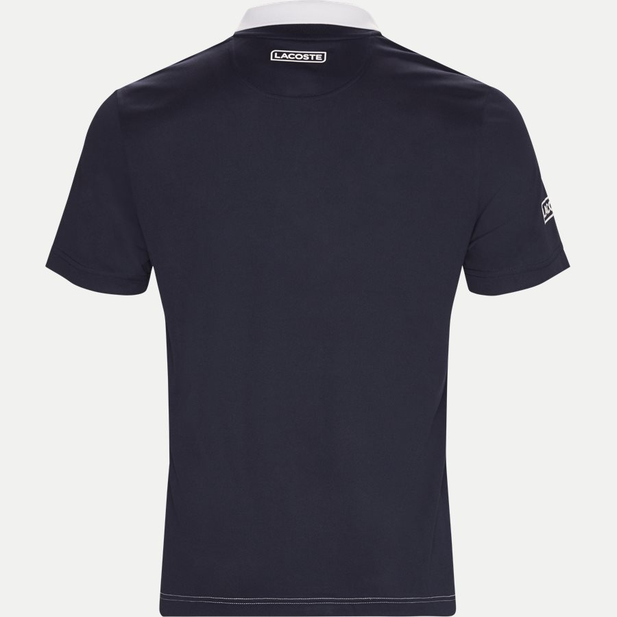 DH9483 - Colorblock Bands Technical Pique Tennis Polo - T-shirts - Regular - NAVY - 2