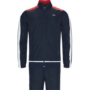 Colored Bands Teffeta Tennis Tracksuit Regular | Colored Bands Teffeta Tennis Tracksuit | Blå