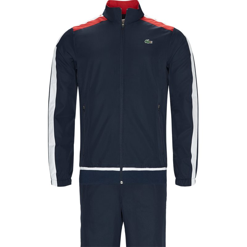 Lacoste - Colored Bands Teffeta Tennis Tracksuit