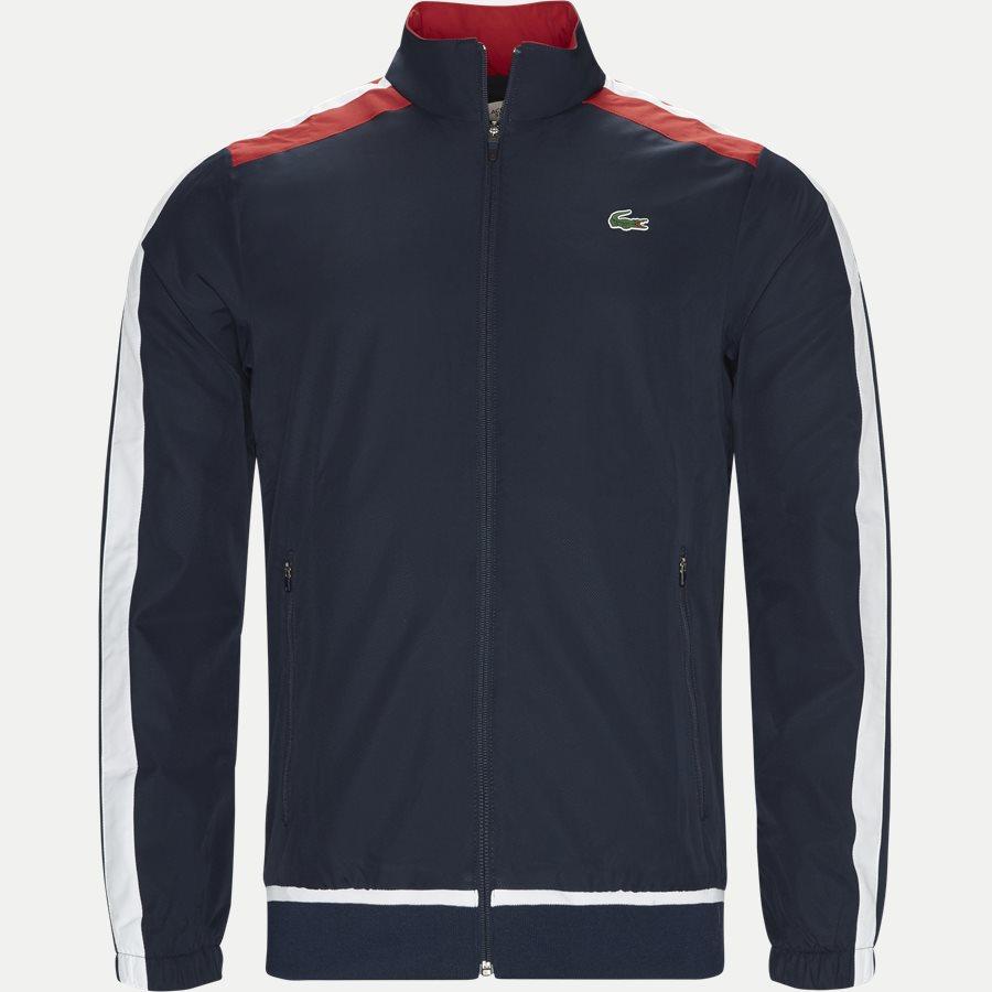 WH9518 - Colored Bands Teffeta Tennis Tracksuit - Sweatshirts - Regular - NAVY - 2