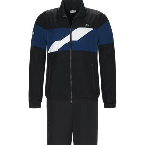 Colored Bands Taffeta Tennis Tracksuit Regular | Colored Bands Taffeta Tennis Tracksuit | Sort