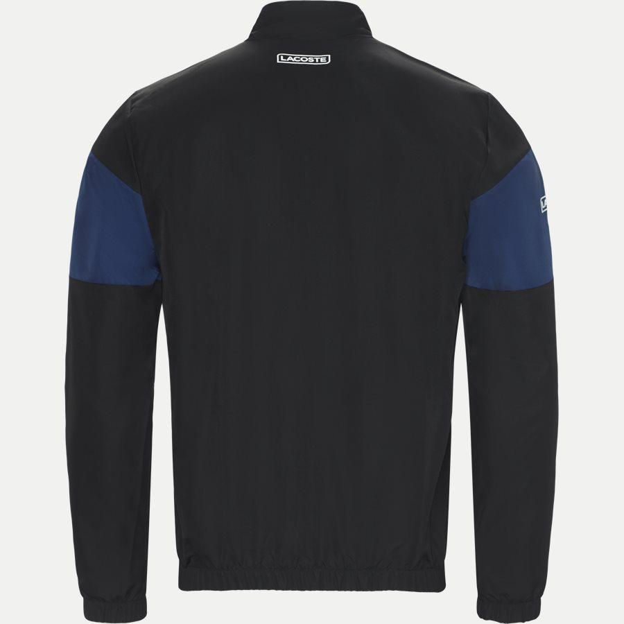 WH9538 - Colored Bands Taffeta Tennis Tracksuit - Sweatshirts - Regular - SORT - 3
