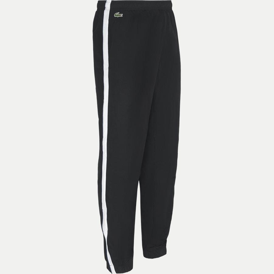 WH9538 - Colored Bands Taffeta Tennis Tracksuit - Sweatshirts - Regular - SORT - 9