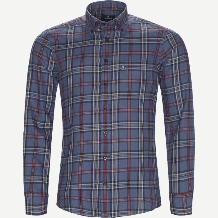 Button-down Skjorte - Skjorter - Regular - Denim