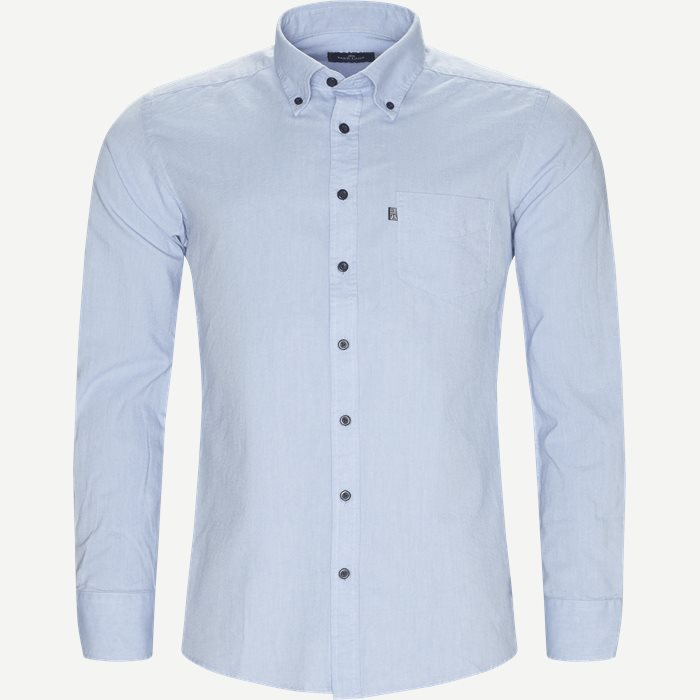 Button-down Skjorte - Skjorter - Regular - Blå
