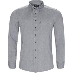Button-down Skjorte Regular | Button-down Skjorte | Grå