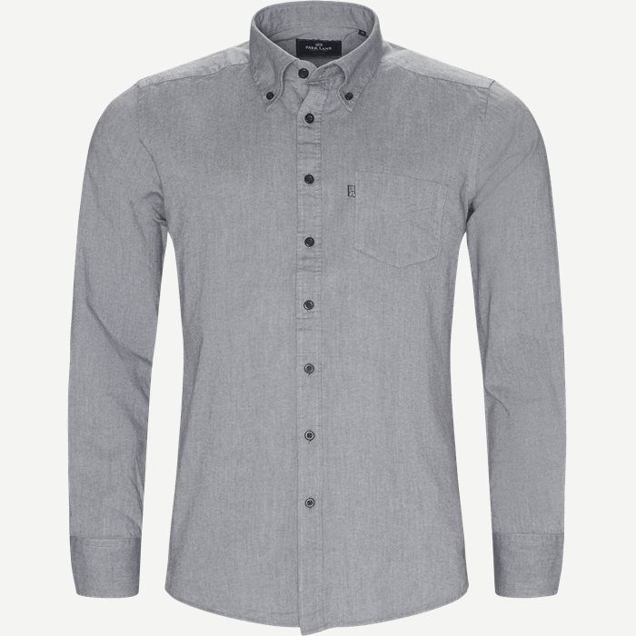 Button-down Skjorte - Skjorter - Regular - Grå