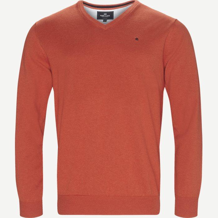 Strickwaren - Regular - Orange