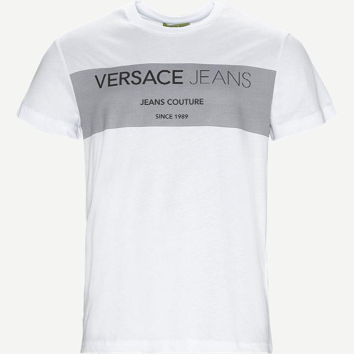 Sole Print Jersey - T-shirts - Regular - Hvid