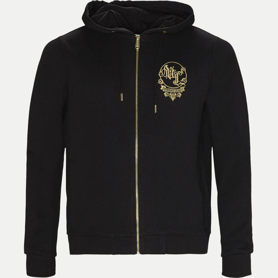 B7GSB7FB 36604 - Baroque Felpa Sweatshirt - Sweatshirts - Regular - SORT - 1