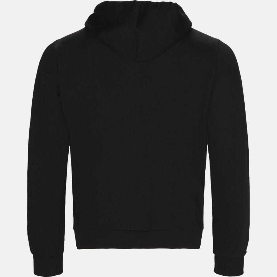 B7GSB7FB 36604 - Baroque Felpa Sweatshirt - Sweatshirts - Regular - SORT - 2