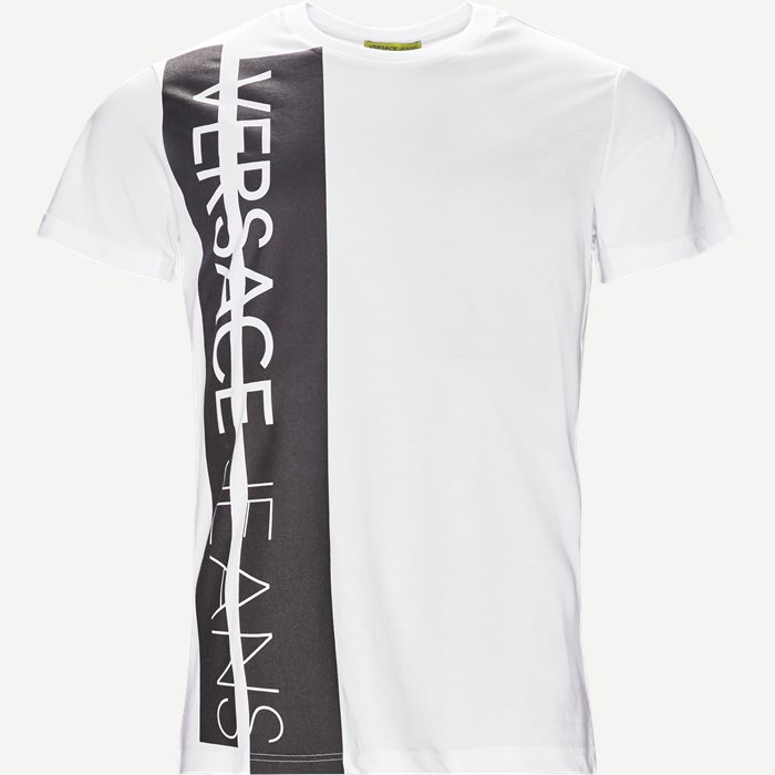 Pluto Logo Tee - T-shirts - Regular - Hvid