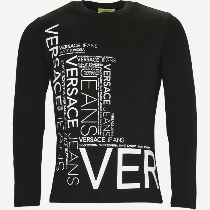 Long Sleeve T-shirt - T-shirts - Regular - Sort