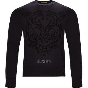 Tiger Chenille Knit Regular | Tiger Chenille Knit | Blå
