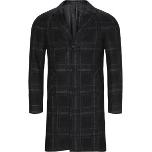Retro Coat Modern fit | Retro Coat | Sort