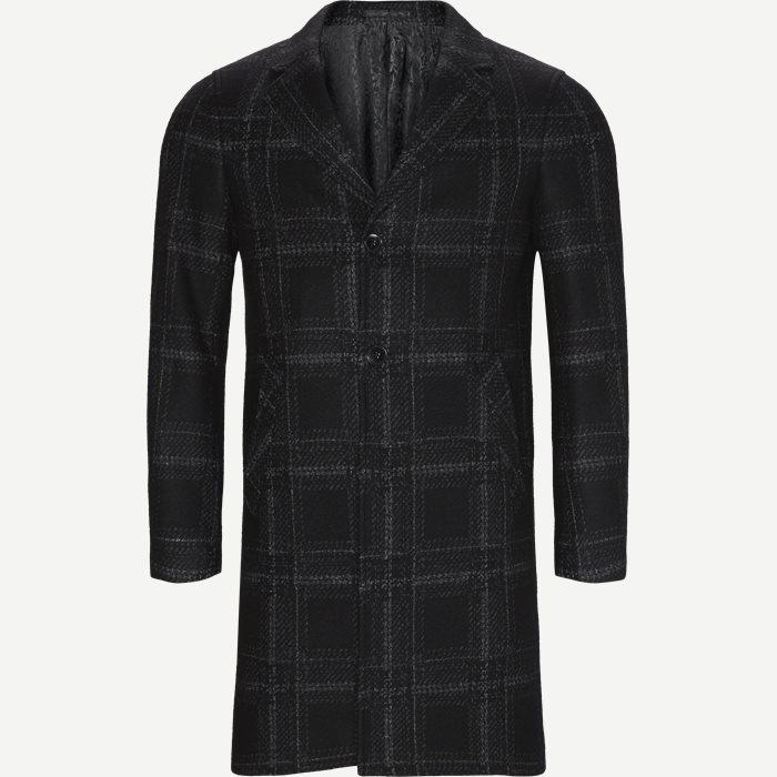 Retro Coat - Jakker - Modern fit - Sort