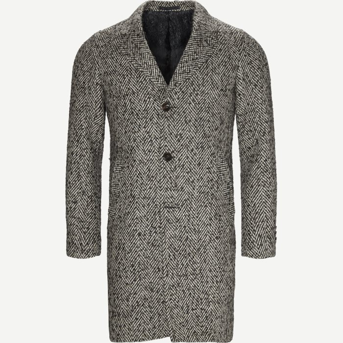 Retro Coat - Jakker - Modern fit - Grå