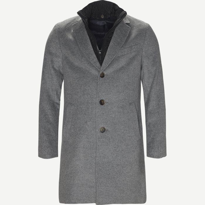 Cashmere Sultan Tech Coat - Jakker - Modern fit - Grå