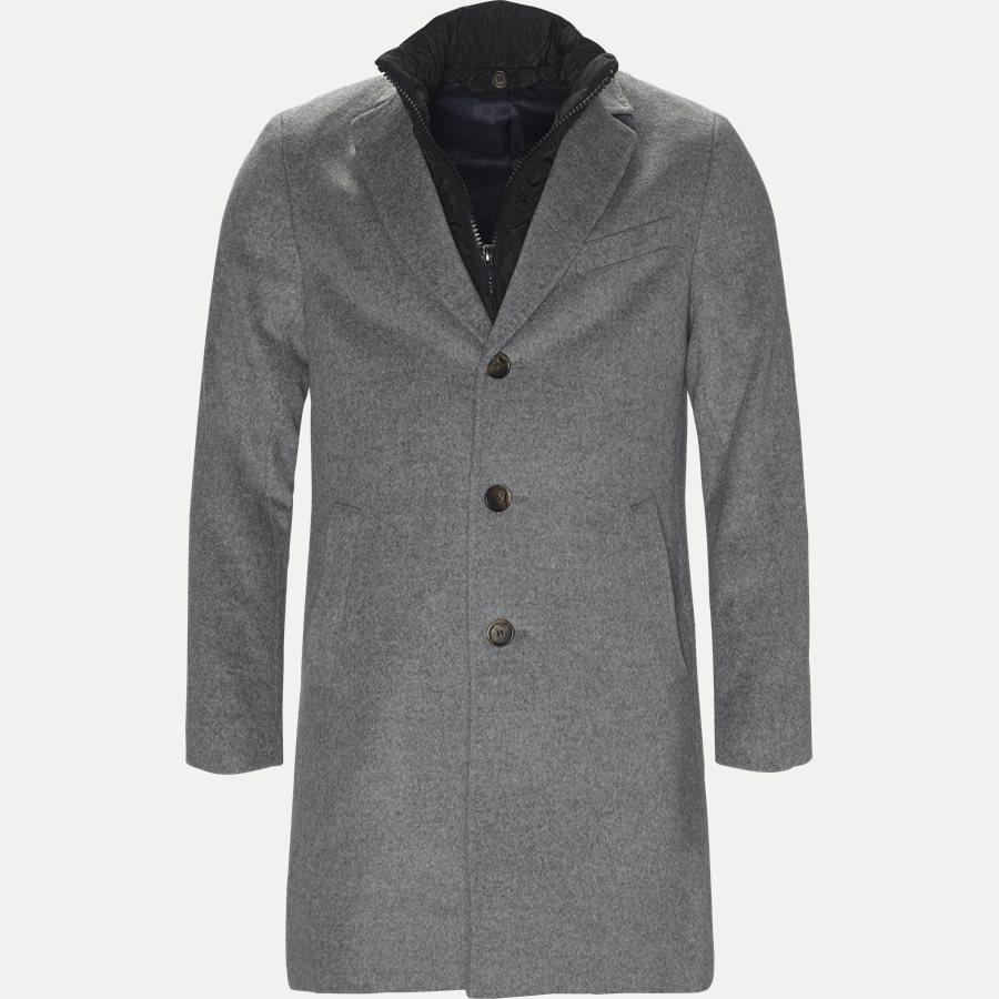 CASHMERE. COAT SULTAN TECH - Cashmere Sultan Tech Coat - Jakker - Modern fit - GRÅ - 1