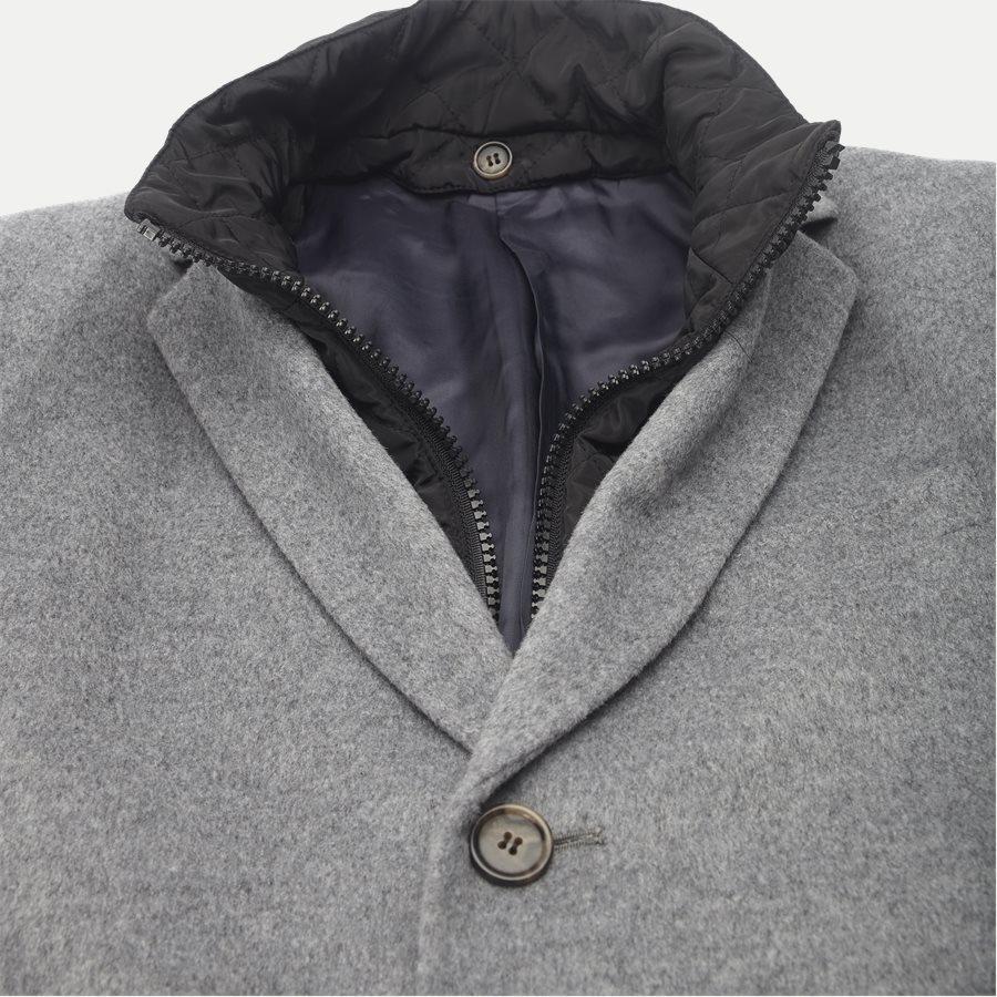 CASHMERE. COAT SULTAN TECH - Cashmere Sultan Tech Coat - Jakker - Modern fit - GRÅ - 3