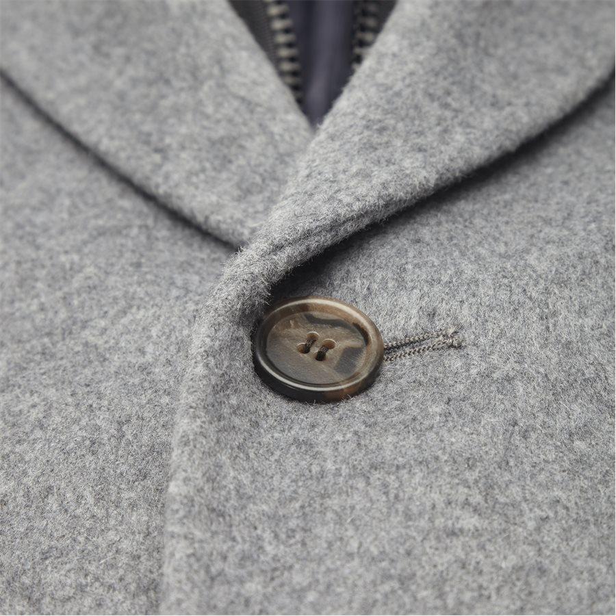 CASHMERE. COAT SULTAN TECH - Cashmere Sultan Tech Coat - Jakker - Modern fit - GRÅ - 4