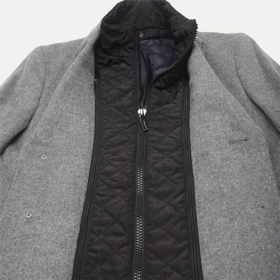 CASHMERE. COAT SULTAN TECH - Cashmere Sultan Tech Coat - Jakker - Modern fit - GRÅ - 7