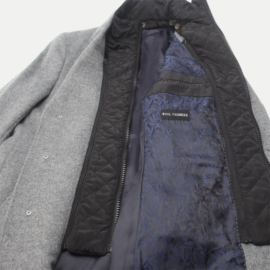 CASHMERE. COAT SULTAN TECH - Cashmere Sultan Tech Coat - Jakker - Modern fit - GRÅ - 8