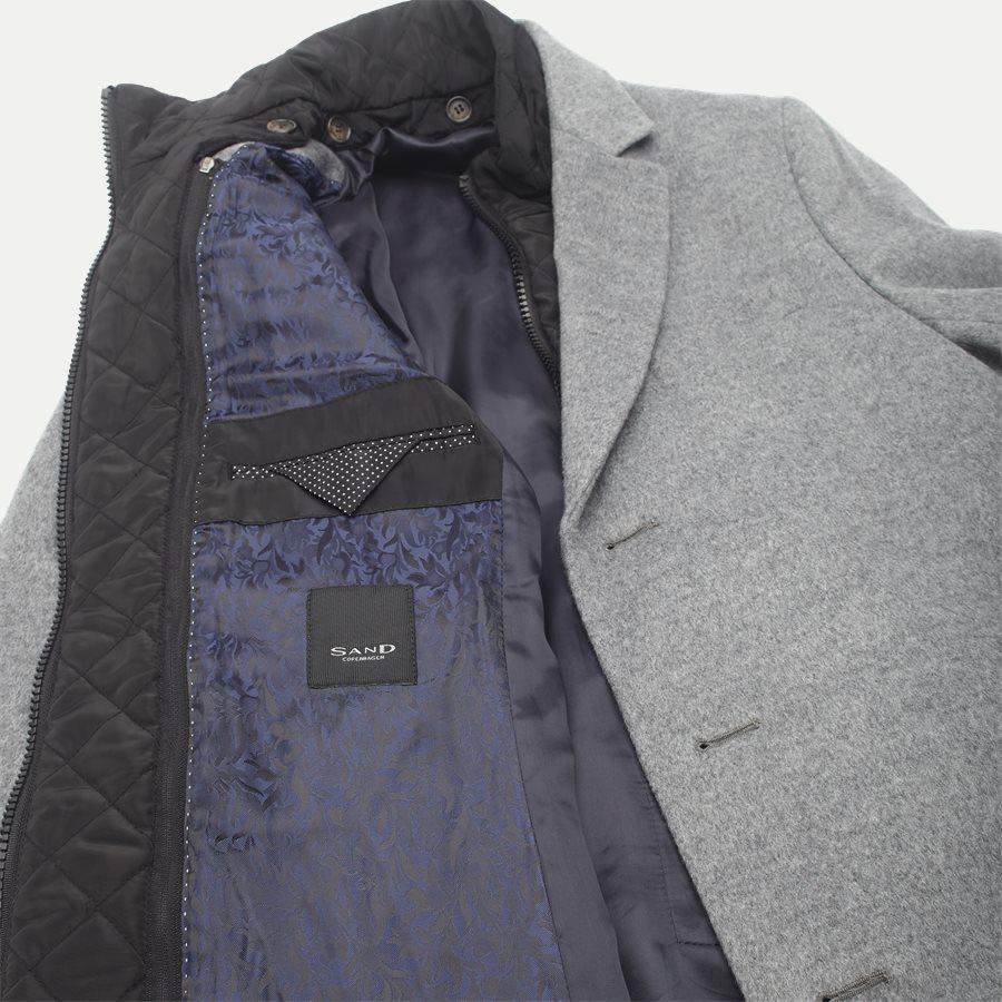 CASHMERE. COAT SULTAN TECH - Cashmere Sultan Tech Coat - Jakker - Modern fit - GRÅ - 9