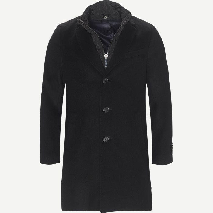Cashmere Sultan Tech Coat - Jakker - Modern fit - Sort