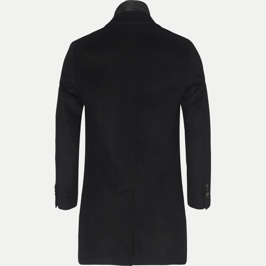 CASHMERE COAT SULTAN TECH - Cashmere Sultan Tech Coat - Jakker - Modern fit - SORT - 2